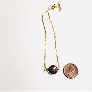 Estrella & Luna Jewelry - Freshwater Peacock Pearl Adjustable Bracelet
